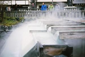 hot spring kusatsu town