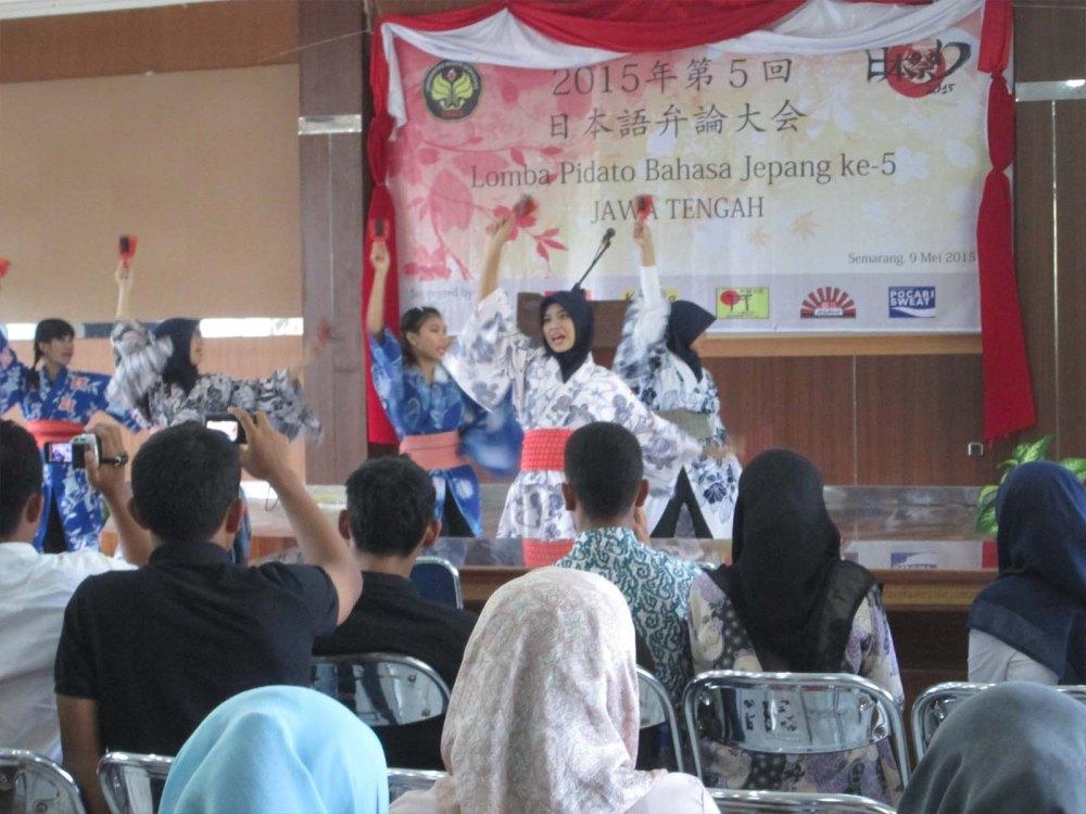 Pidato Bahasa Jepang se-Jawa Tengah 2015 : 楽しいかったゼー! (3/4)